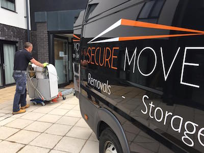 Delivery of an Argo bath by Secure Move